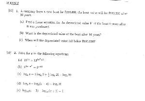 math 208 past finals, past midterms