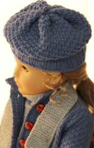 dollknittingpattern 0141d sophia (january) - suit, sweater, hat, socks and scarf-(english)