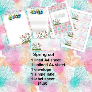 Spring set | Crafting | Paper Crafting | Other