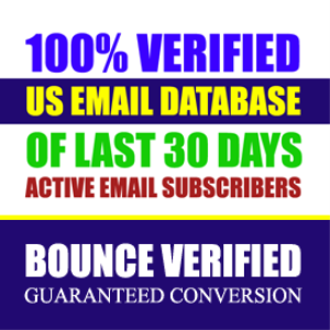 buy us active email database list
