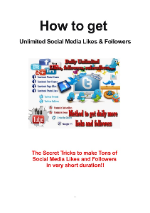 Unlimited Social Followers | Other Files | Everything Else