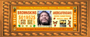 Brownskins + Americafrindians= $01952$ | Photos and Images | Digital Art