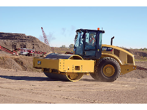Caterpillar Soil Compactor in Action | Photos and Images | Technology