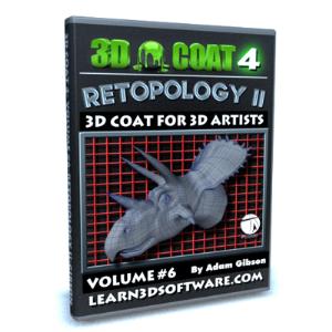 3D Coat V4-Volume #6-Retopology II | Software | Training