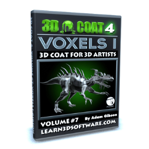 3D Coat V4-Vol.#7- Voxels I | Software | Training