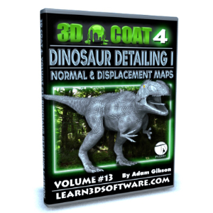 3D Coat V4-Volume #13-Dino Detailing I | Software | Training