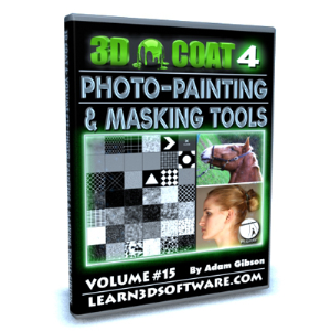 3d coat v4-volume #15- photo painting & masking tools