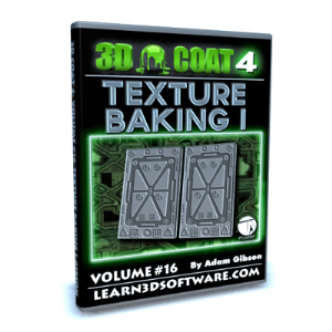 3D Coat V4-Vol.#16-Texture Baking I | Software | Training