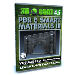 3D Coat V4-Vol.#20-Smart Materials III | Software | Training