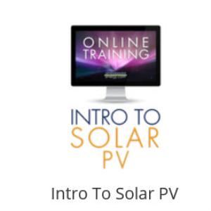 intro to solar pv