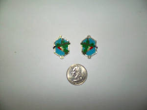Peyote Stitch Hummingbird Delica Seed Beading Earring Pattern-430- | Crafting | Jewelry