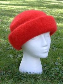high brim felted hat pattern