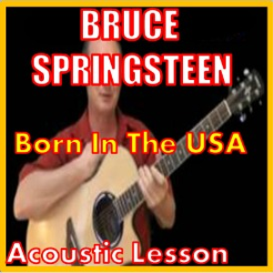 Learn to play Born In The USA by Bruce Springsteen | Movies and Videos | Educational
