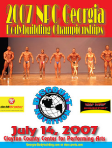 2007 NPC Georgia Bodybuilding Championships | Movies and Videos | Sports