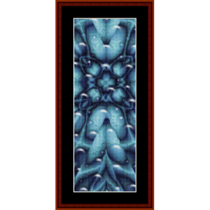 Fractal 268 Bookmark by Cross Stitch Collectibles | Crafting | Cross-Stitch | Other