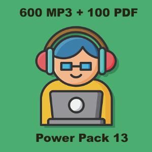 Power Pack 13 | Audio Books | Languages