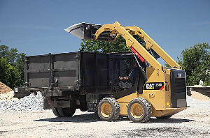 CAT Skid Steer at the Construction Site | Photos and Images | Technology