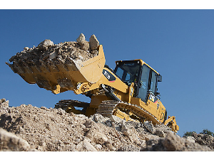 Caterpillar Track Loader at the Construction Site | Photos and Images | Technology
