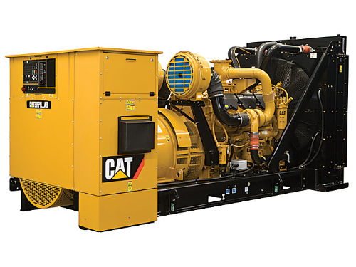 First Additional product image for - Caterpillar Generator at the Construction Site