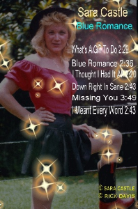 sara castle blue romance cd