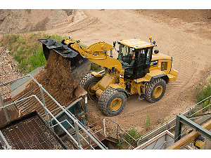 Caterpillar Wheel Loader at the Construction Site | Photos and Images | Technology