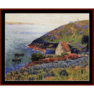 Port Manech - Moret cross stitch pattern by Cross Stitch Collectibles | Crafting | Cross-Stitch | Wall Hangings