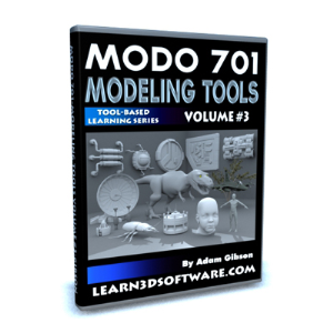 MODO 701 Modeling Tools-Volume #3 | Software | Training
