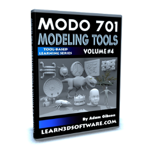 MODO 701 Modeling Tools-Volume #4 | Software | Training