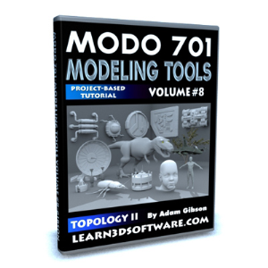 Modo 701-Modeling Tools-Volume #8- Topology II | Software | Training