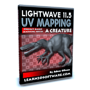 lightwave 11.5 uv mapping a creature