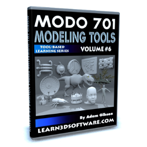 MODO 701 Modeling Tools-Volume #6 | Software | Training