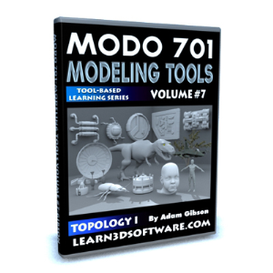 MODO 701 Modeling Tools-Volume #7-Topology I | Software | Training