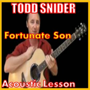Learn to play Fortunate Son by Todd Snider | Movies and Videos | Educational