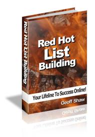 Red Hot List Building With Master Resale Rights | eBooks | Internet