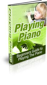 playing piano - with master resale rights