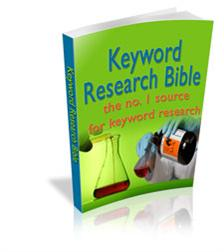 Keyword Research Bible With Master Resale Rights | eBooks | Internet