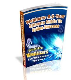 Webinars A-Z Your Ultimate Guide To Online - Private Labels Rights | eBooks | Internet