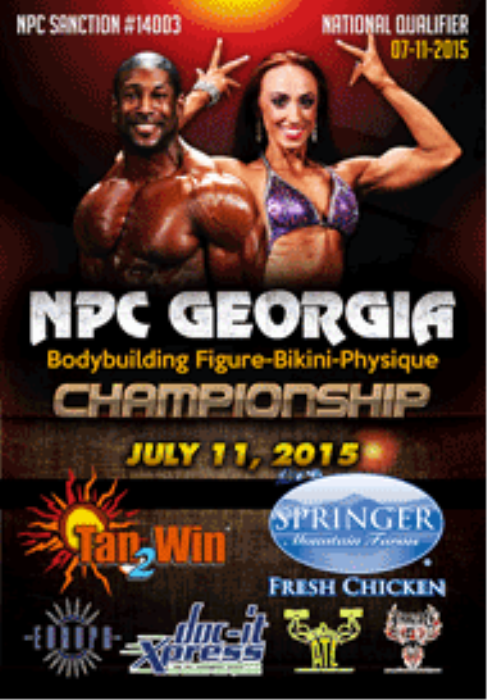 First Additional product image for - 2015 NPC Georgia Bodybuilding-Figure-Bikini-Physique