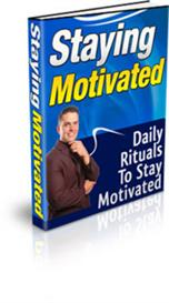 Staying Motivated Ebook With Private Labels Rights | eBooks | Education