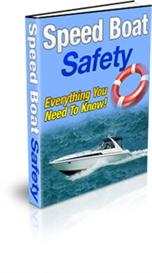 Speed Boat Safety With Private Labels Rights | eBooks | Sports
