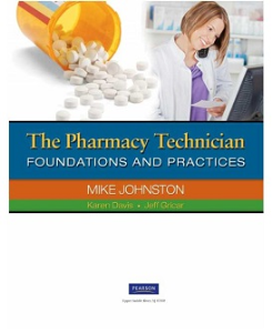 the pharmacy technician: foundations and practices
