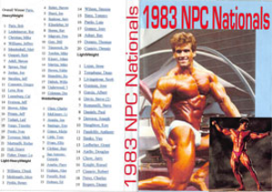 1983 NPC Nationals Bodybuilding Championships | Movies and Videos | Sports