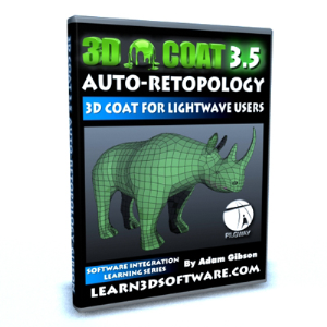 3D Coat 3.5 for Lightwave Users-Auto-Retopology | Software | Training