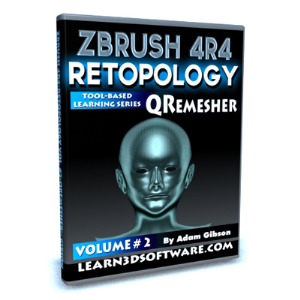 ZBrush 4R4-Retopology Volume #2- QRemesher | Software | Training