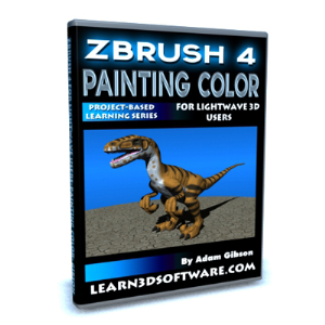 ZBrush 4 for Lightwave Users-Painting Color | Software | Training