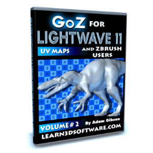 GoZ for Lightwave 11 and ZBrush Users-Volume #2- UV Maps | Software | Training