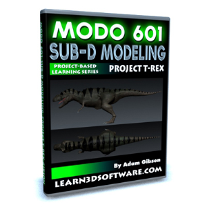 Modo 601-Sub-D Modeling-Project T-Rex | Software | Training