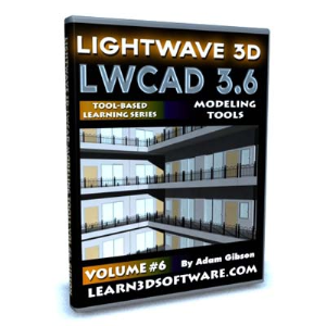 LWCAD 3.6 Modeling Tools-Volume #6 | Software | Training