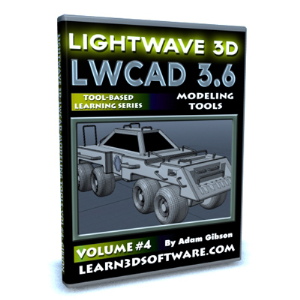 LWCAD 3.6 Modeling Tools-Volume #4 | Software | Training