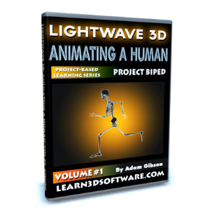 Lightwave 11-Animating a Human-Vol.#1-How to Make Your Character Walk | Software | Training